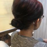 卒業式に参列されるお母様のヘアスタイル