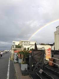 超レア虹を見ながらヘッドスパなんていかがですか??